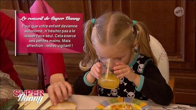 Les conseils de Super Nanny pour rendre un enfant plus autonome