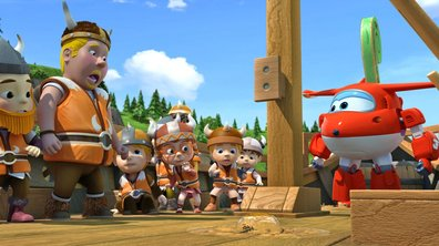 Le courage des Vikings - Superwings ( saison 1)