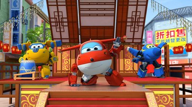 La danse du lion - Superwings (saison 1)