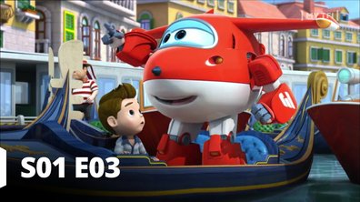 Super Wings - S01 E03 - Et vogue la gondole!