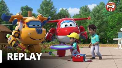 Super Wings - La balançoire