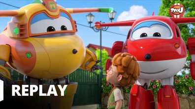 Super Wings - La plus vieille horloge du monde