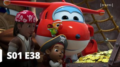 Super Wings - S01 E38 - Le butin des pirates