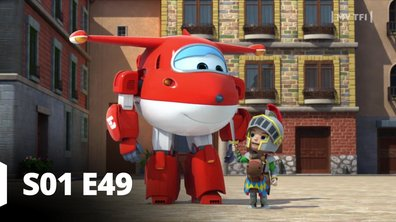 Super Wings - S01 E49 - Le fier chevalier