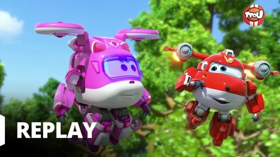 Super Wings - Le petit train de Kimba