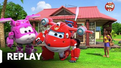 Super Wings - Les statues volantes