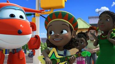 Rien n'arrête le reggae ! Superwings (saison 1)