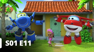 Super Wings -S01 E11 - Sur un air de samba