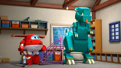 Le Tyracubosaure - Superwings (saison 1)