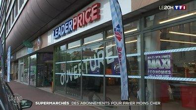 Supermarchés : des abonnements pour payer moins cher