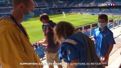 Supporters dans les stades : les conditions du retour