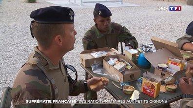 Suprématie française : des rations militaires aux petits oignons