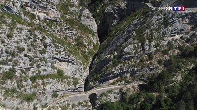 Sur la route des clues de la Vallée de l'Estéron