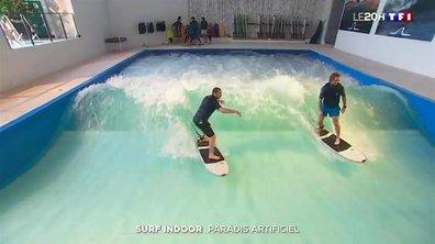 Surf indoor à Lyon : un paradis artificiel