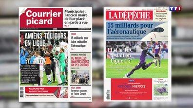 Suspension de la relégation d'Amiens en Ligue 2 : les supporters veulent y croire