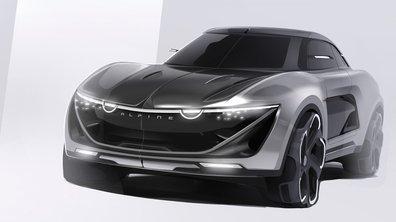 Design : Le futur SUV Alpine ?