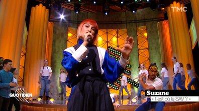 """Suzane : """"Il est où le SAV ?"""" en live pour Quotidien"""