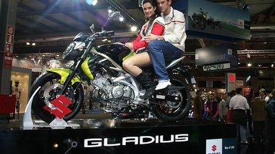 Salon de Milan 2008 : La Suzuki Gladius