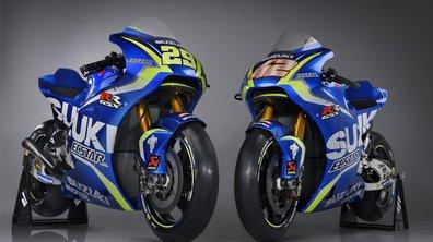 MotoGP 2017 : Suzuki a présenté ses nouvelles GSX-RR