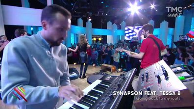 Synapson feat Tessa B - Going back to my roots en live sur Quotidien