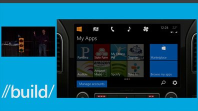 "Systèmes embarqués : Microsoft dévoile sa solution ""Windows in the car"""