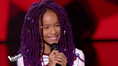 The Voice Kids : Talima chante « Papaoutai » de Stromae (Team Soprano)