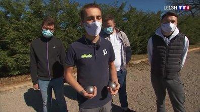 Tanguy Penin, un champion de pétanque de l'Aveyron, fait le buzz