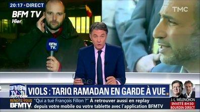 Tariq Ramadan : une garde à vue très médiatique