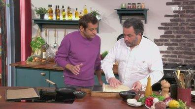 Tarte fine aux légumes d'Yves Camdeborde