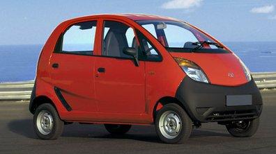 Tata Nano : voici la voiture la moins chère du monde