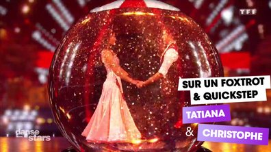 Sur un Foxtrot et un Quickstep, Tatiana Silva et Christophe Licata (All I Want For Christmas is You)