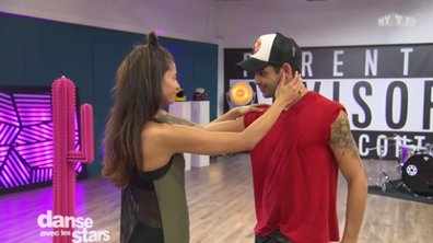 Tatiana Silva et Christophe Licata sensuels pour leur prochaine danse !