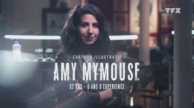 """Le portrait d'Amy Mymouse : """"Le tatouage c'est toute ma vie"""""""