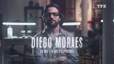 """Le portrait de Diego Moraes : """"Le tatouage c'est une histoire de famille"""""""