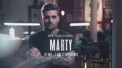 "Le portrait de Marty Early : ""Je travaille beaucoup au feeling"""