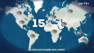 Taxation des multinationales : les GAFA rattrapés par l'impôt