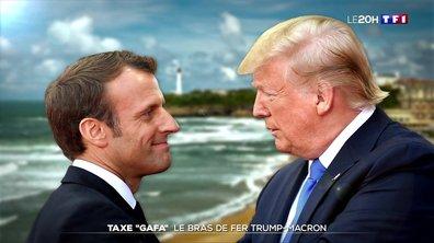 "Taxe ""GAFA"" : le bras de fer Trump-Macron"