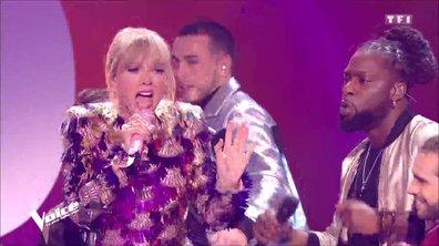 TAYLOR SWIFT et les 12 Talents - « Shake It Off » – Quart de Finale / Direct 2