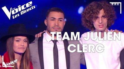 [Julien Clerc] : Pierre Danaë, Léonard ou Laureen ? Les qualifiés pour la demi-finale sont…. (Direct 2 – Saison 8)