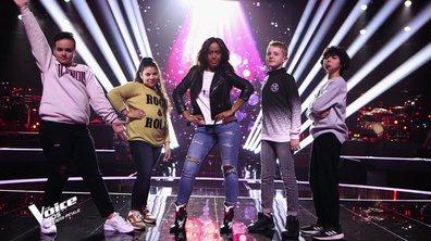 The Voice Kids 6 - DEMI-FINALE (Amel Bent) : Ali sauvé, Soan volé à Soprano