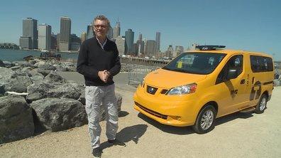 Teaser : Automoto essaie le nouveau taxi de New York