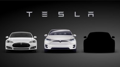 Teaser : Tesla annonce sa future berline Model 3