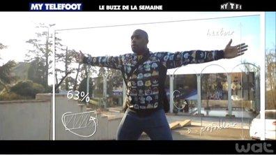 MyTELEFOOT - Buzz de la Semaine : Teddy Riner avec les Bleus !