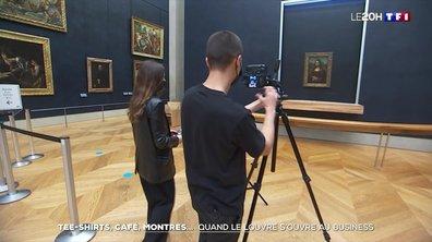 Tee-shirts, café, montres... quand le Louvre s'ouvre au business