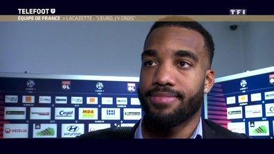 """Alexandre Lacazette : """"Les Bleus ? J'y crois encore !"""""""