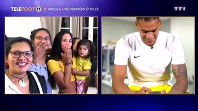 Alphonse Areola partage l'émotion de sa première selection avec ses enfants