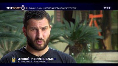 """André-Pierre Gignac : """"Mon histoire avec l'OM n'est pad finie"""""""