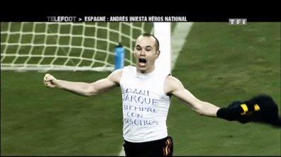 Andrés Iniesta, le héros de l'Espagne