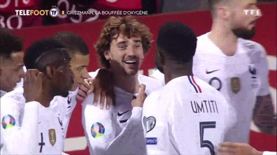 Equipe de France : Antoine Griezmann, la bouffée d'oxygène