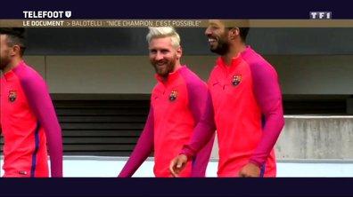 [Téléfoot 6/11] Pour Balotelli, Suarez doit être Ballon d'Or !